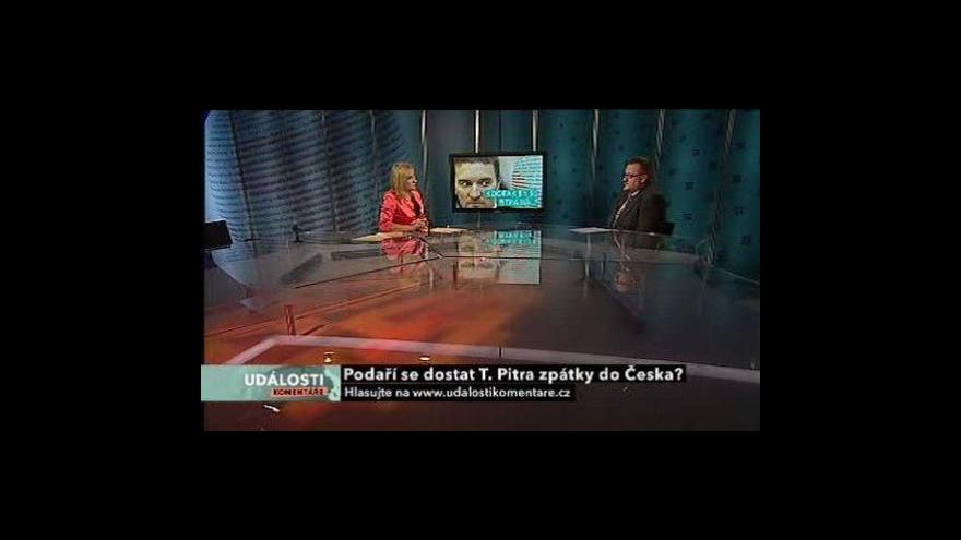 Video Události, komentáře s Pitrovým právníkem Křivánkem