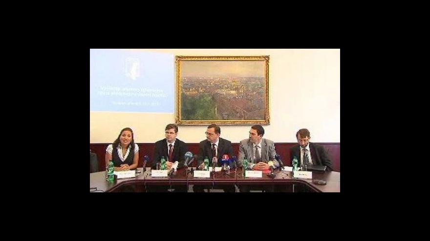 Video Tisková konference ministerstva spravedlnosti