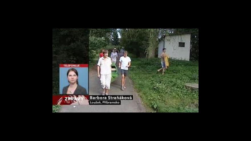 Video Telefonát Barbory Straňákové