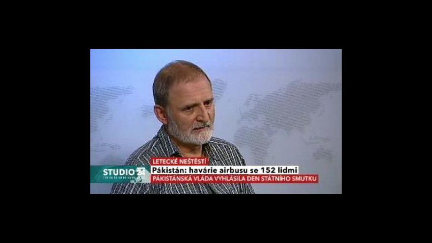 Video Rozhovor s leteckým publicistou Martinem Velkem