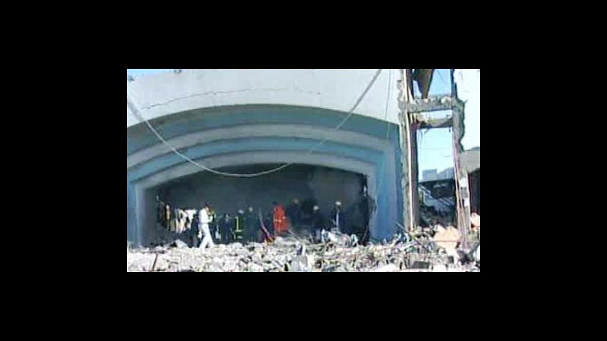 Video Teroristický útok v egyptském Šarm aš-Šajchu