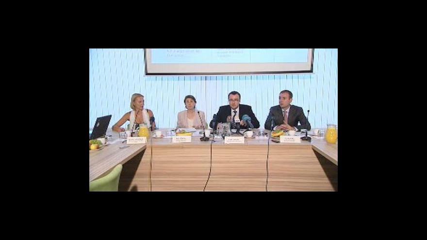 Video Brífink ministra životního prostředí Pavla Drobila