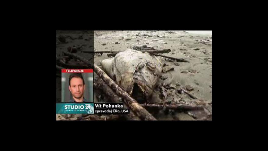 Video Vít Pohanka a Adam Petrusek o ropě v Mexickém zálivu