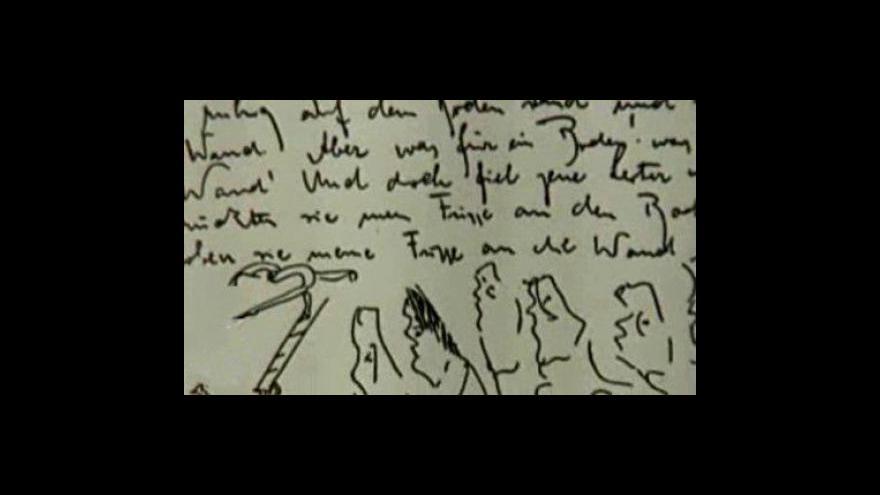 Video Spor o půzůstalost Franze Kafky
