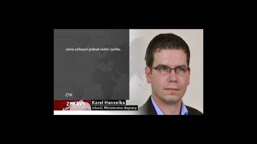 Video Tři úseky českých dálnic budou pomalejší