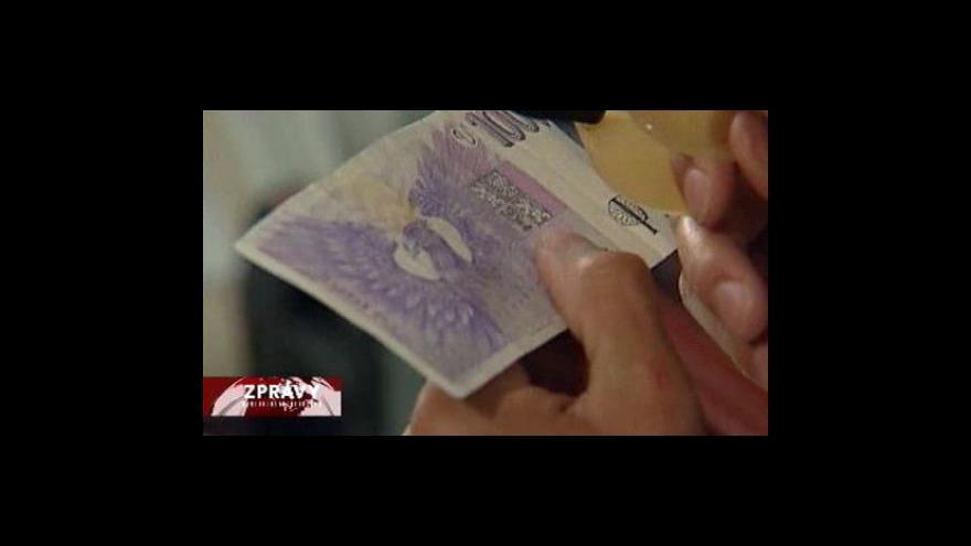Video Falečných bankovek přibývá