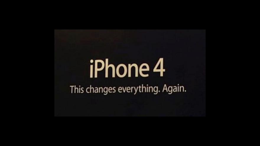 Video Problémy iPhonu 4
