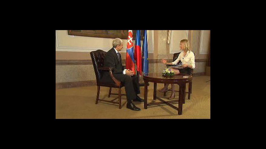 Video Rozhovor Hany Scharffové s Mikulášem Dzurindou