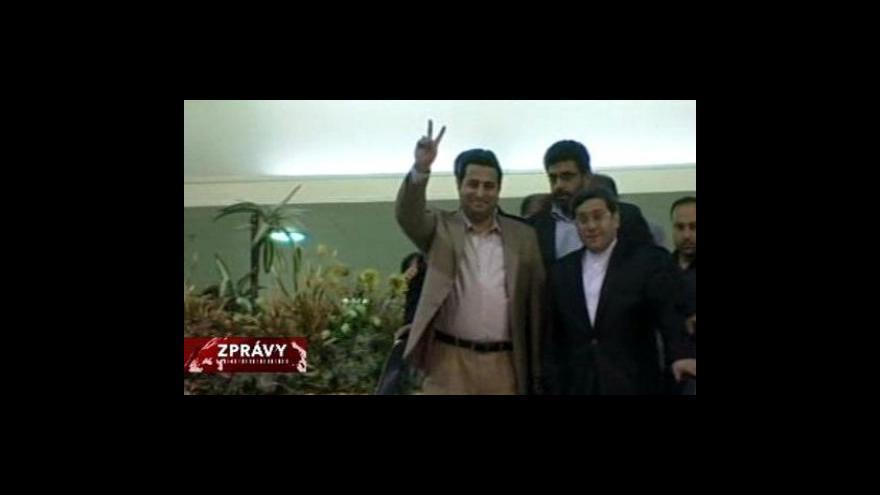 Video Návrat Šahrama Amírího do Íránu