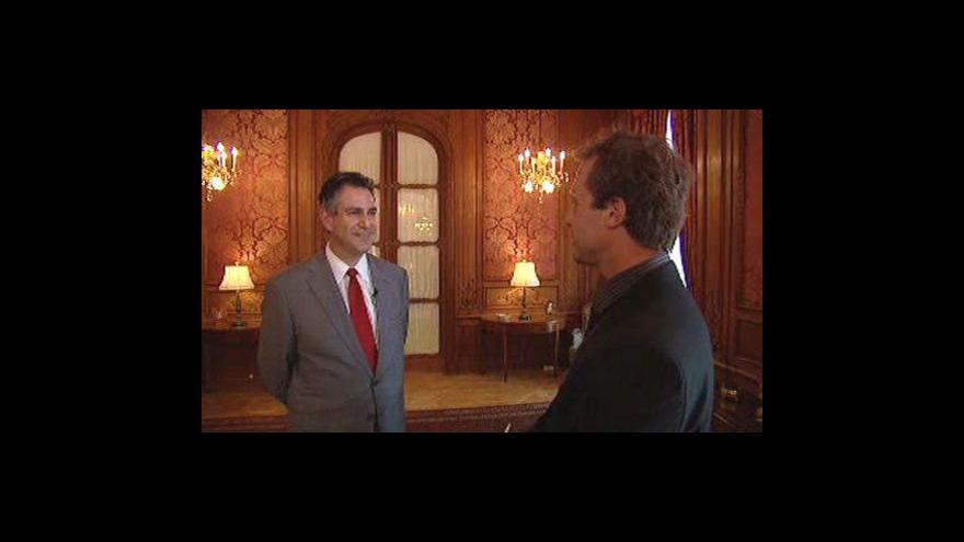 Video Rozhovor s náměstkem ministra USA Francisco Sanchezem