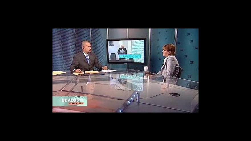 Video Rozhovor s Janem Komárkem a Lenkou Šulovou