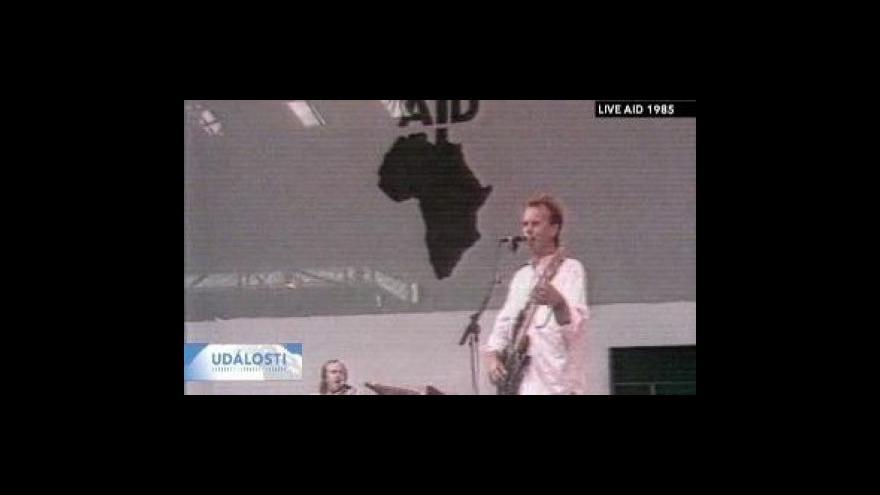 Video Live Aid patří mezi největší koncerty všech dob