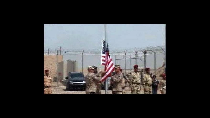 Video Američané opouštějí věznici Bucca
