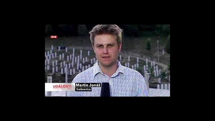 Video Reportáž a živý vstup Martina Jonáše