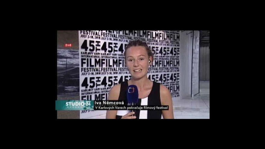 Video Iva Němcová o příjezdu Nikity Michalkova