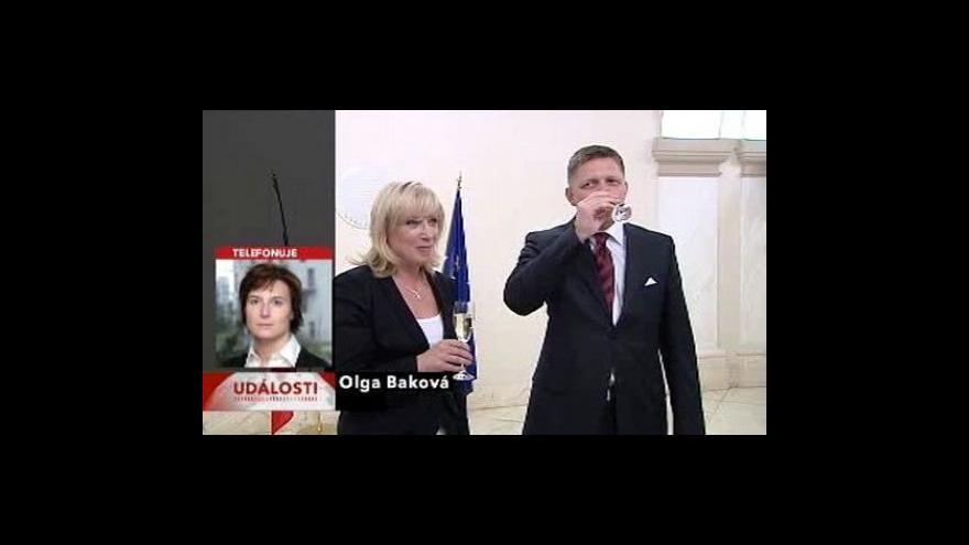 Video Gašparovič jmenoval novou vládu