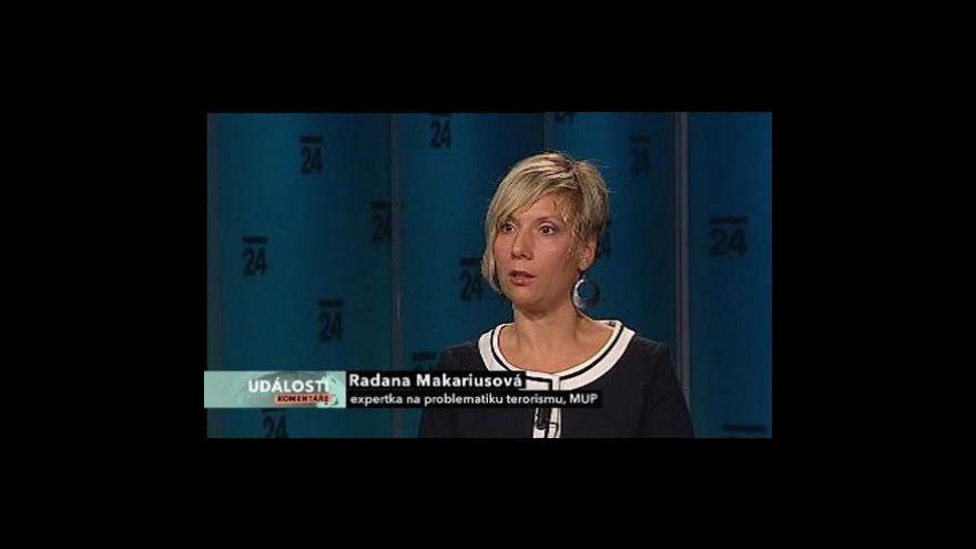Video Události, komentáře s Radanou Makariusovou
