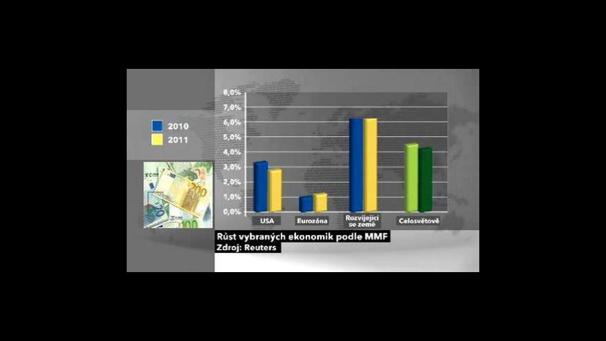 Video MMF: Evropa brzdí světovou ekonomiku