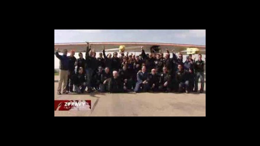 Video Události, komentáře o letadlu Solar Impulse