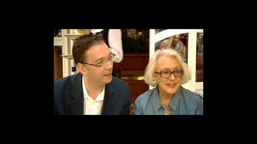 Video Micheline Presleová a Fréderic Sojcher - rozhovor