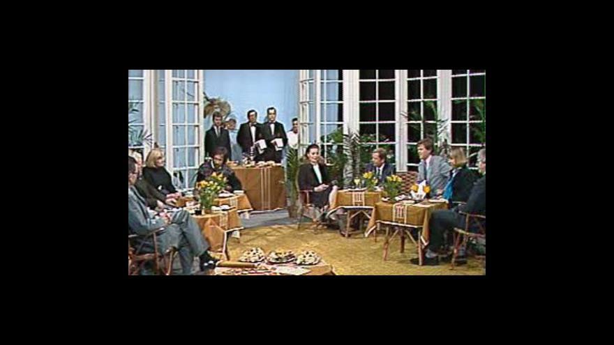Video Retropohled na politické diskuze začíná