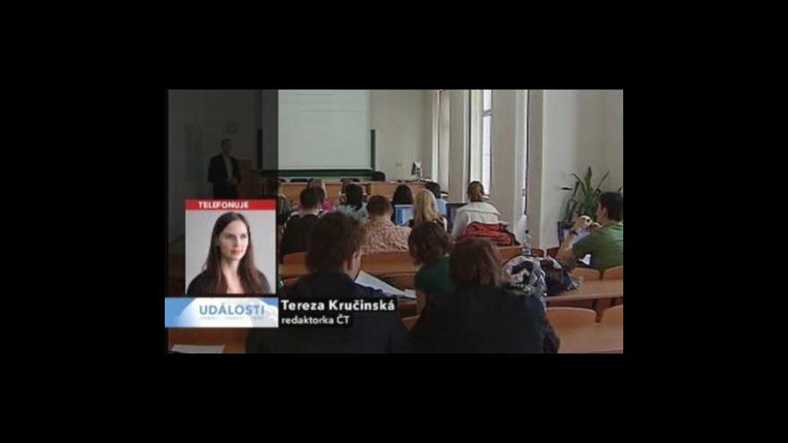 Video Telefonát Terezy Kručinské