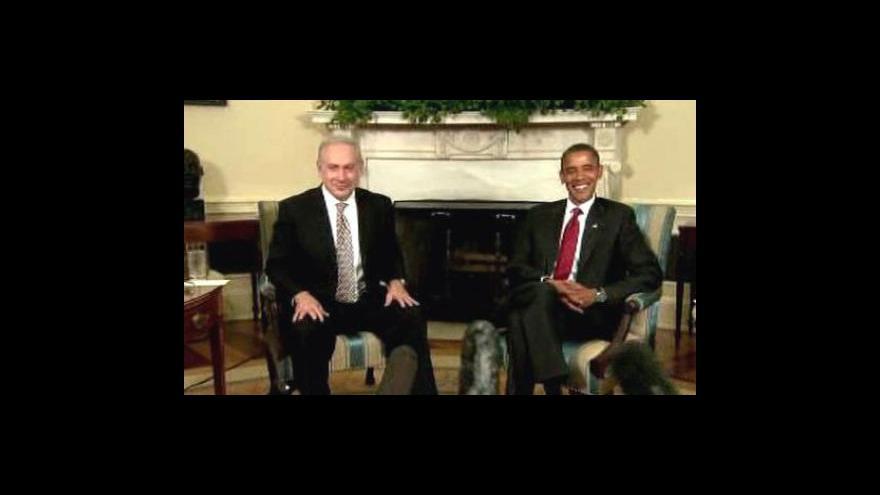 Video Netanjahu jednal s Obamou