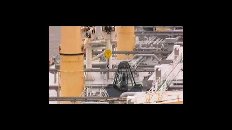 Video Zachrání tanker Mexický záliv?