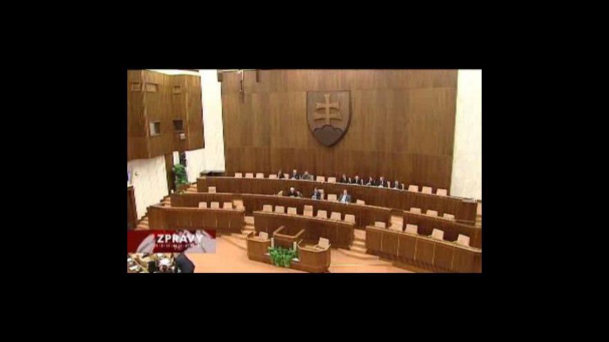 Video Reportáž o chystaném vzniku nové slovenské vlády