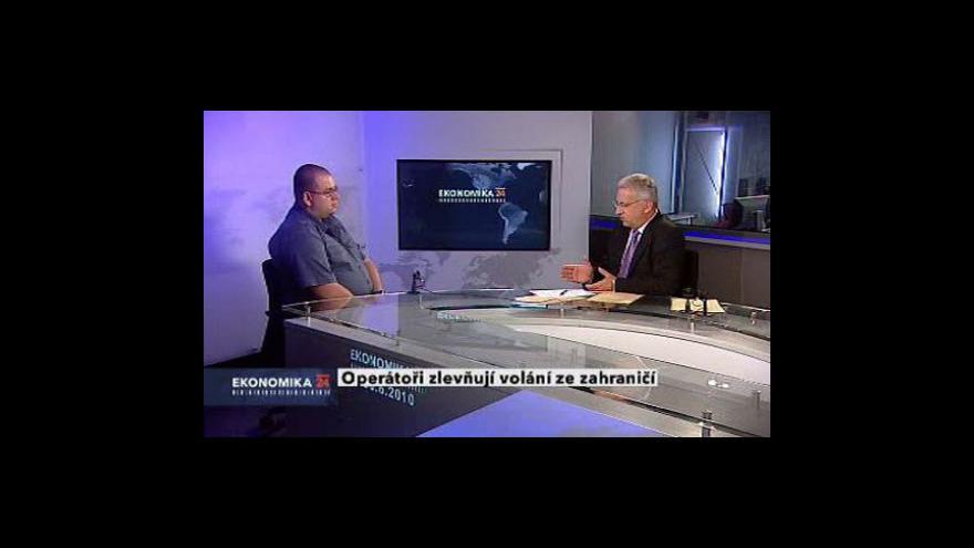 Video Rozhovor s odborníkem na telekomunikace Janem Lodlem
