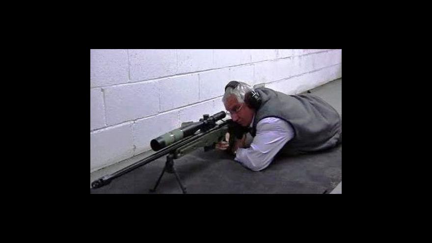 Video Britská armáda má novou odstřelovací pušku