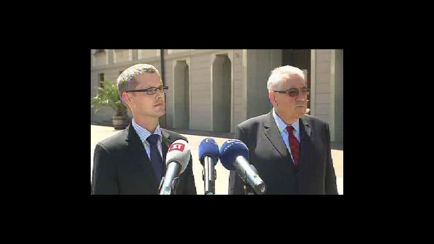 Video Brífink Vladimíra Tomšíka a Kamila Janáčka