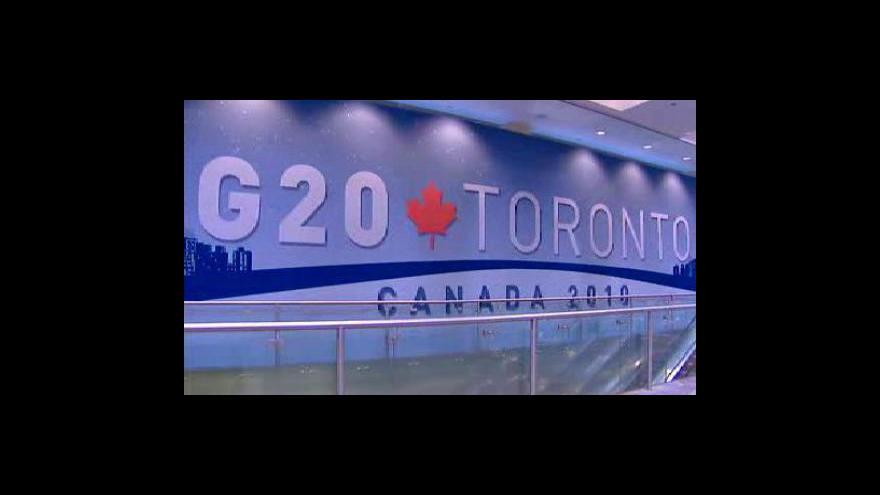 Video G8 a G20 budou debatovat o hospodářském oživení