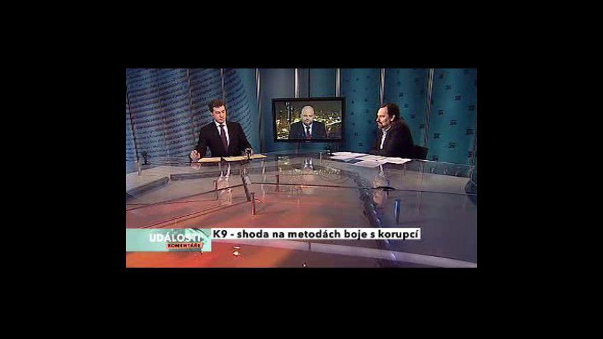 Video Ud., komentáře k vyjednávání o protikorupčních opatřeních