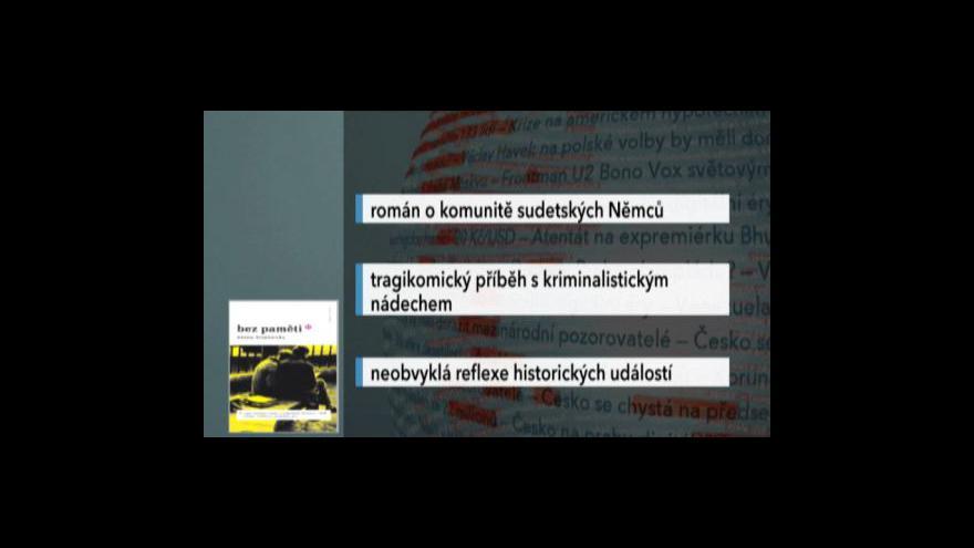 Video Emma Braslavsky hostem Událostí, komentářů