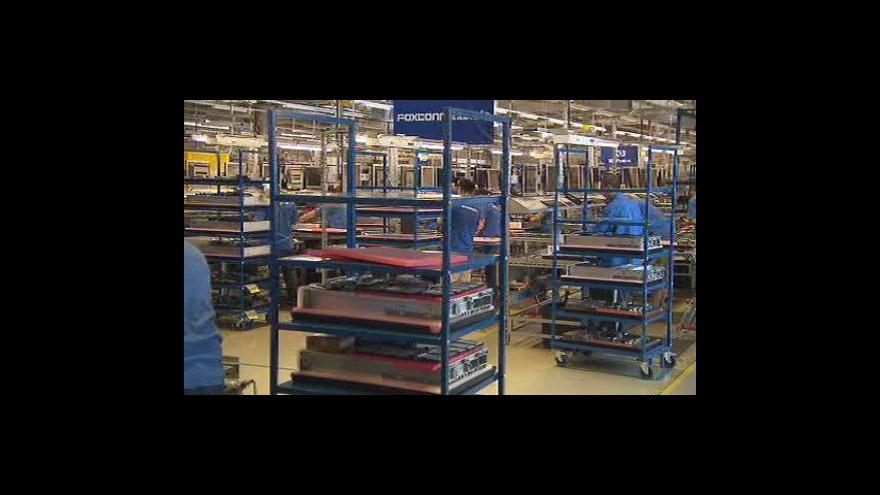 Video Rozšíření výroby v kutnohorském Foxconnu