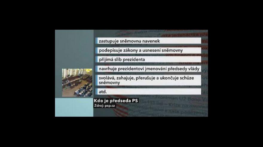 Video Nové poměry v Poslanecké sněmovně