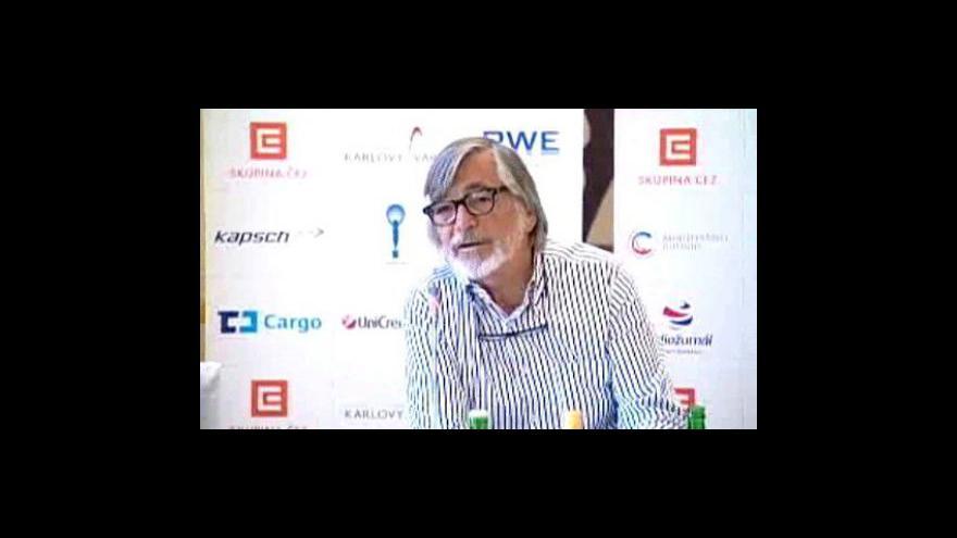 Video Tisková konference ke 45. ročníku MFFKV