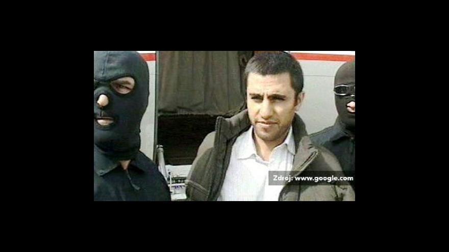 Video Poprava vůdce sunnitských povstalců