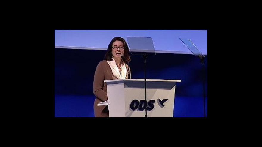 Video Nominační projevy Miroslavy Němcové a Davida Vodrážky
