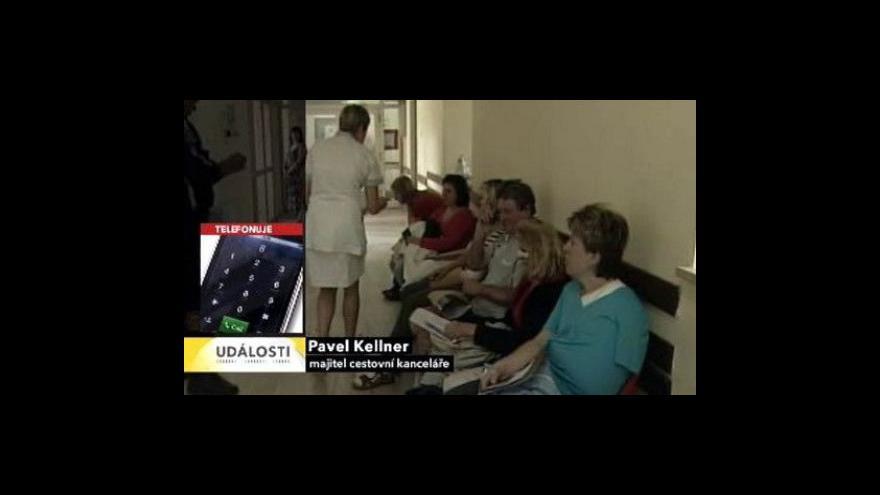 Video Nehoda autobusu v Chorvatsku