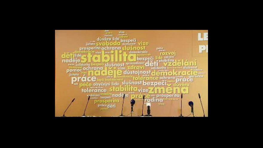 Video Brífink po jednání předsednictva ČSSD