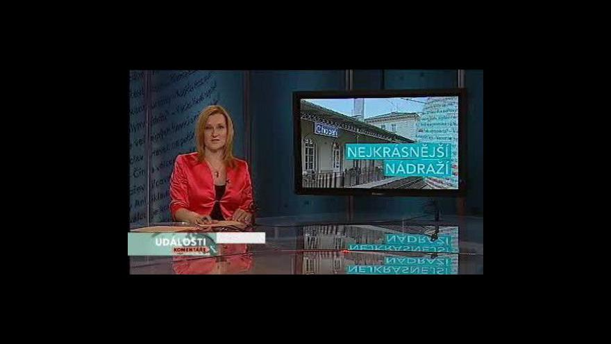 Video Události, komentáře o nádraží v Chocni