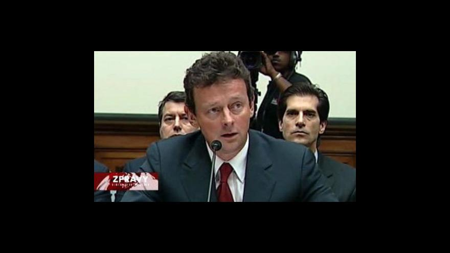 Video BP sklidilo v Kongresu ostrou kritiku