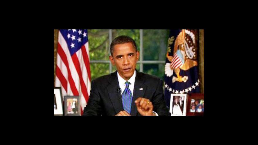 Video Obama představil plán boje s ropnou katastrofou