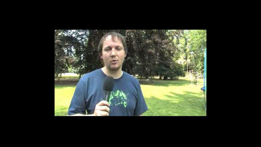 Video Reportáž Davida Langra
