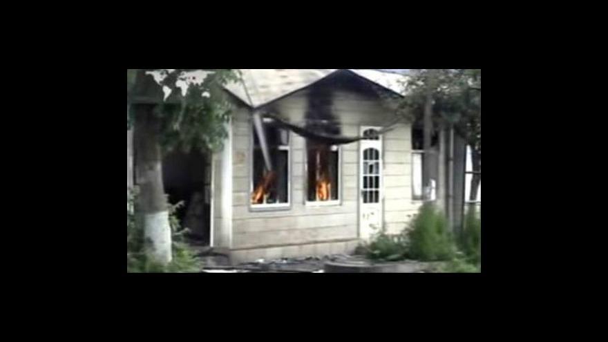 Video OSN vyzývá kyrgyzské úřady k ukončení nepokojů