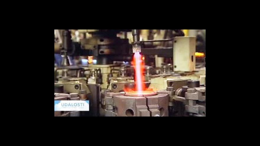 Video Crystalex rozjede další dvě výrobní linky