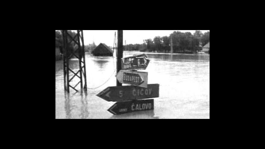 Video V červnu 1965 zasáhla Slovensko největší povodeň 20. století