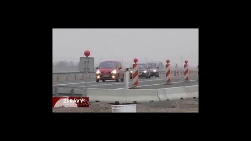 Video Vláda opět projedná dostavbu dálnice D11